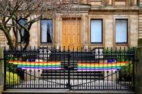 Glasgow Academy rainbow