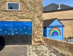 Garage rainbow