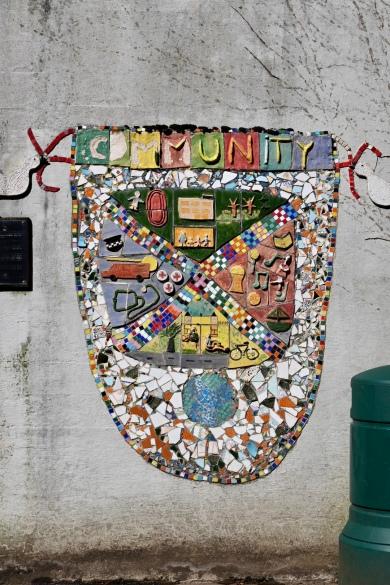 Gartnavel Royal Community mosaic