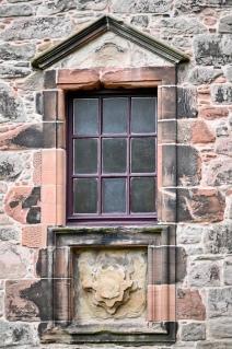 Newark Castle window