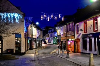 Stranraer at Christmas