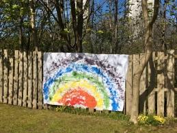 Fence rainbow