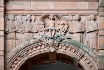 Detail above St Mungo