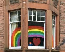 Rainbow with Paddington