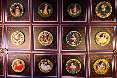 Stirling Castle heads