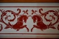 Unicorn frieze