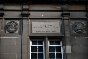 Carnegie library plaque