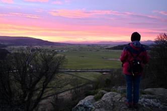 Stirling sunset