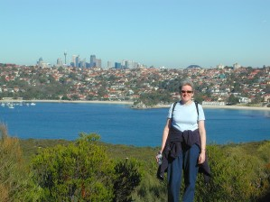 Anabel and Sydney skyline