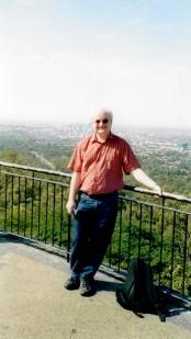 John at Mount Coot-tha Lookout