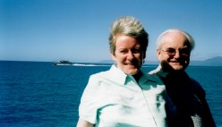 Anabel and John on Quicksilver Cruise