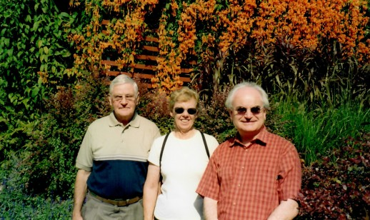 Ian, Elspeth and John