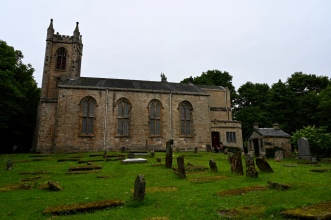 Cadder Church and graveyard
