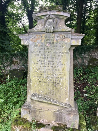 Cadder Church and graveyard