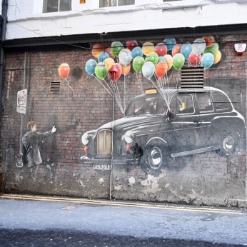 Rogue One taxi mural