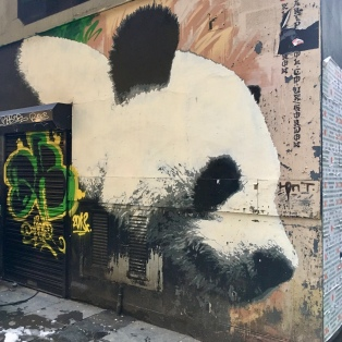 Glasgow panda by Klingatron