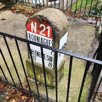N21 sign, North Kelvinside