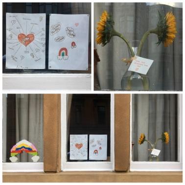 Glasgow window triptych