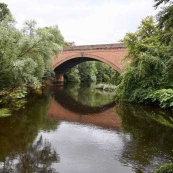 Queen Maragret Drive bridge