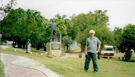 Captain Cook's statue
