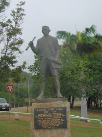 Captain Cook's statue