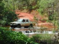 Ford at Isabella Falls