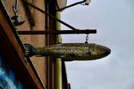 Fish shop sign