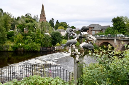Blairgowrie riverside sculpture