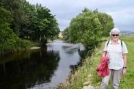 River Ericht path