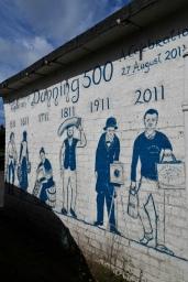 Dunning 500 mural
