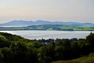 View to Cumbrae and Arran