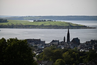 Largs from above