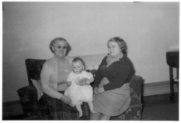 Me with Granny and Auntie Jen