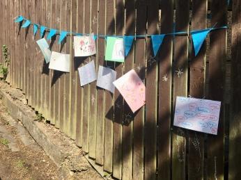 Art on fence