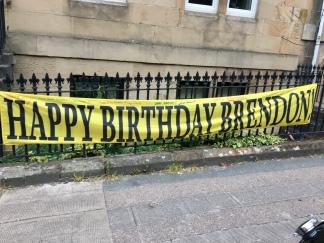 Happy birthday, Brendon