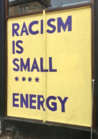 Racism is small
