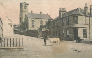 Kilmacolm Cross and Parish Church 1907