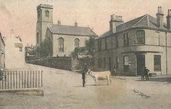Kilmacolm Cross and Parish Church 1907
