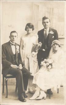 Mary and Tom Stevenson 1927