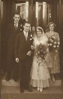 Bob and Annie Maskell 1931