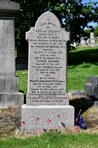 Grave of William Smith, Boys' Brigade founder