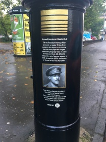 Black History Month postbox