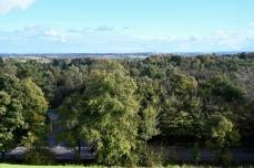 Glasgow from Milngavie reservoirs