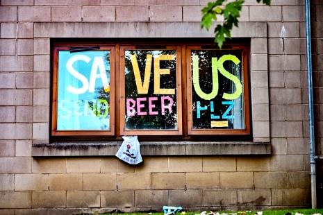 Save us! Send beer.