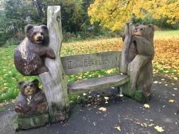 I love Bearsden bench