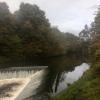 River Kelvin weir