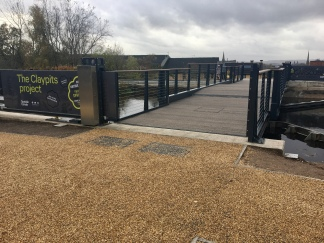 New bridge at Claypits