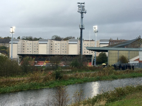 Partick Thistle from canal