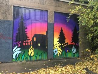 Street art, Woodlands Road