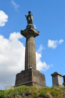 John Knox statue in Glasgow Necropolis